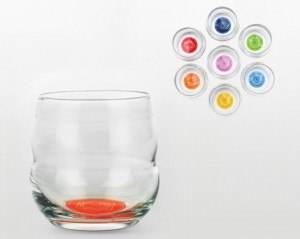 Drinkglazen set 'Chakra', Nature Design, 7 stuks